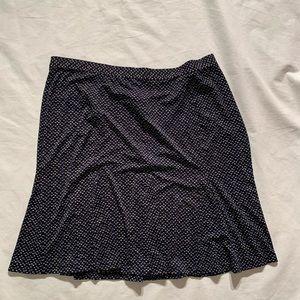 "Talbots Size 20 Midi Flare Skirt Length 25"" Boho"